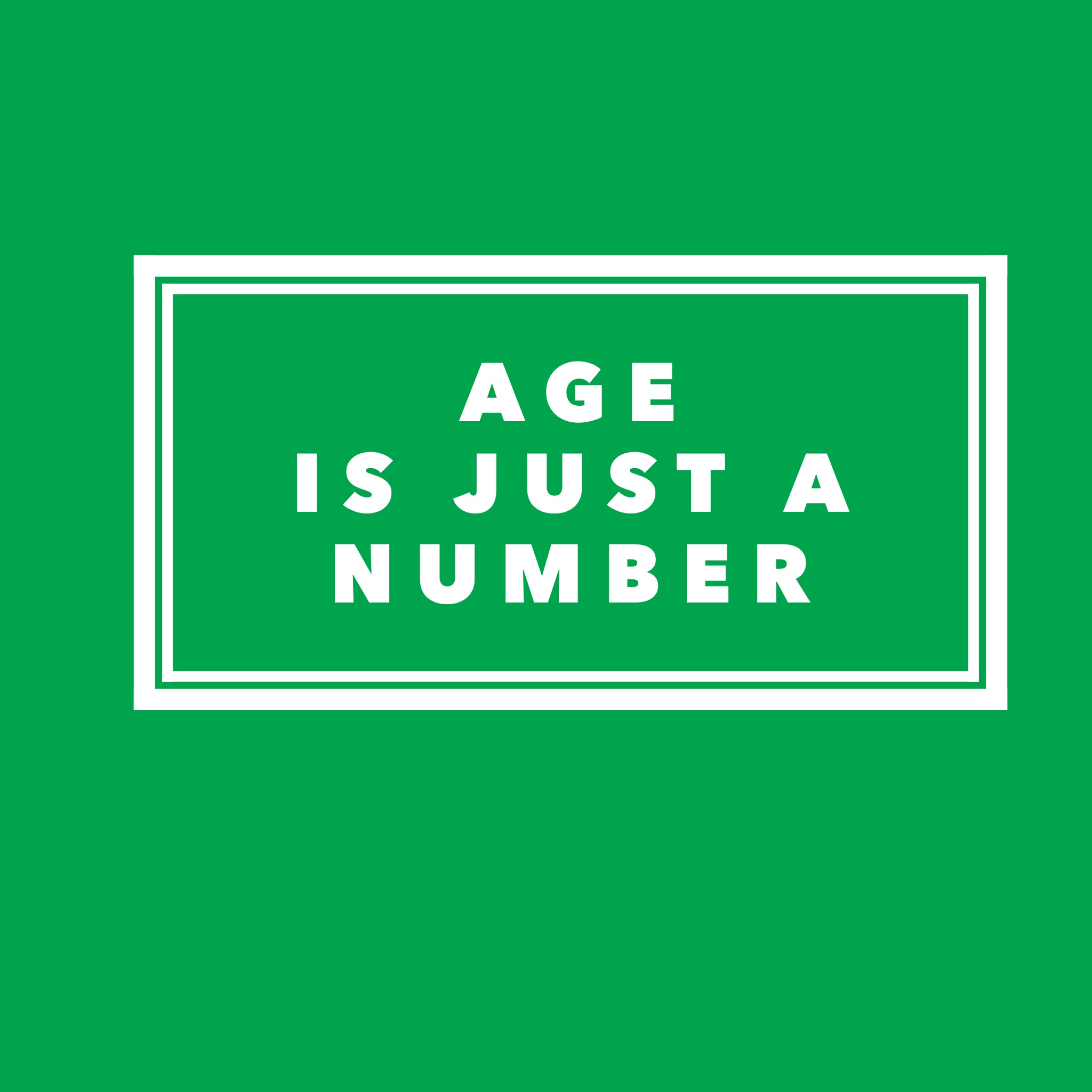 Age….it's just a number!