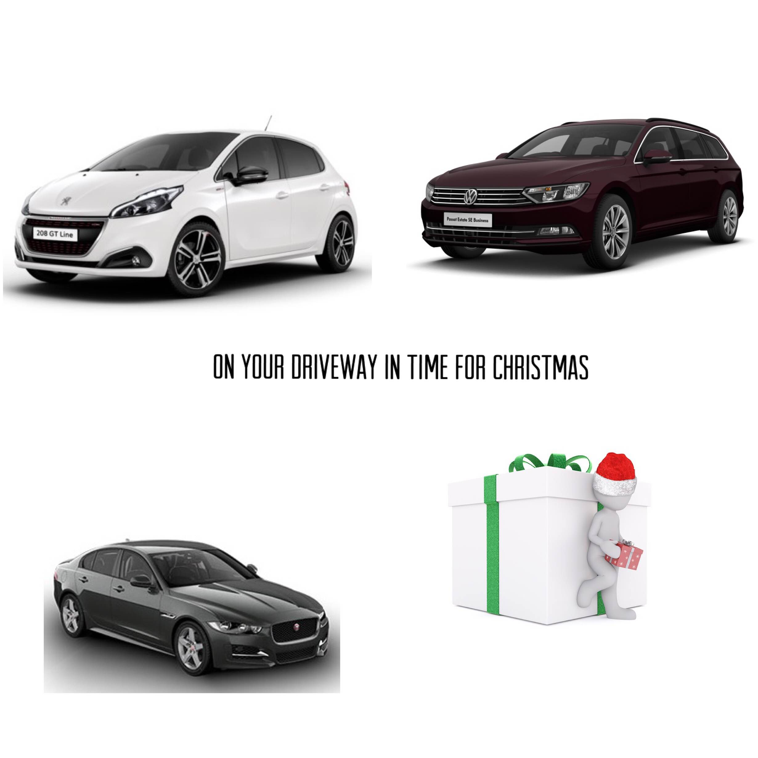 Order your new lease car today - get it for Christmas