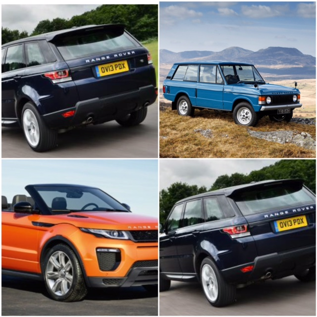The Range Rover - a great car leasing option with a firm place in motoring history