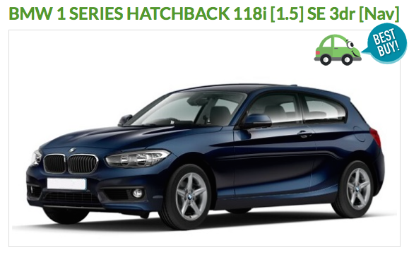 Car Leasing Review - our Deal of the Month - BMW 1 series