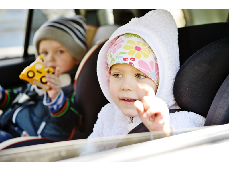 Are you following child seat rules in your van?
