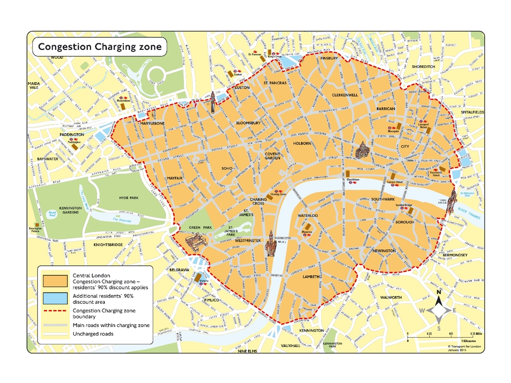 Our tips on driving in London