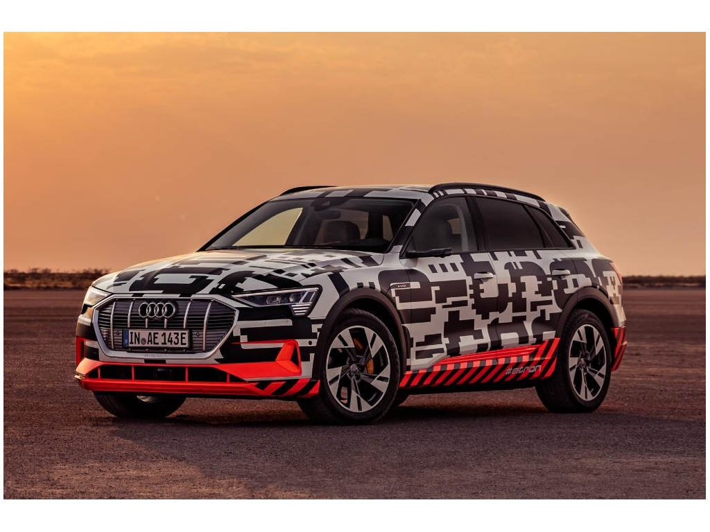 New for 2019 - the Audi e-tron