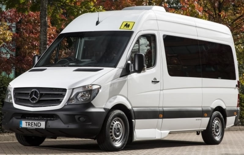 A 12-seater minibus that can be driven on a normal driving licence!