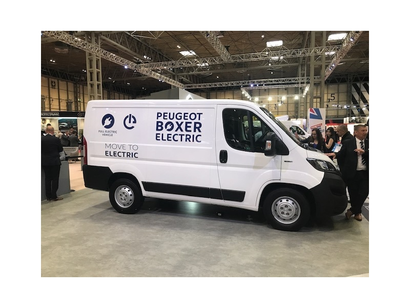The Vans4Lease team at the Commercial Vehicle Show 2019