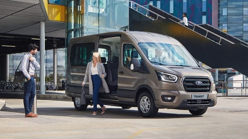 The wait is over. The new Ford Transit 17-seat minibus is now available!