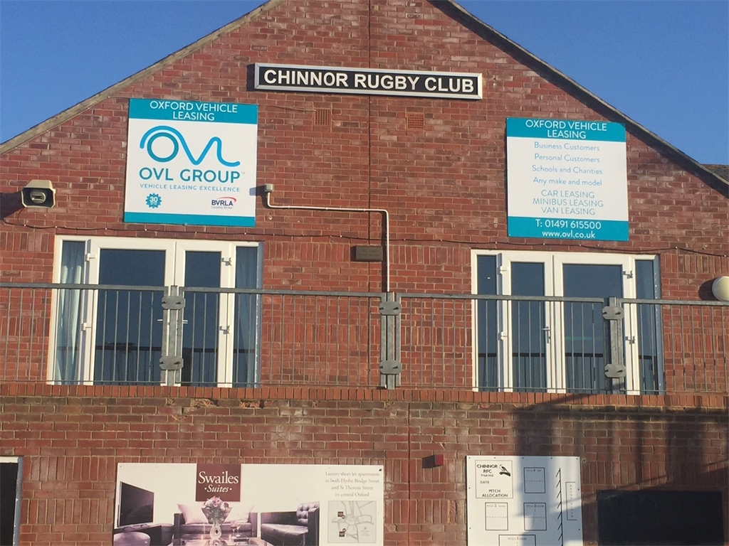 OVL - proud sponsors of Chinnor Rugby Club