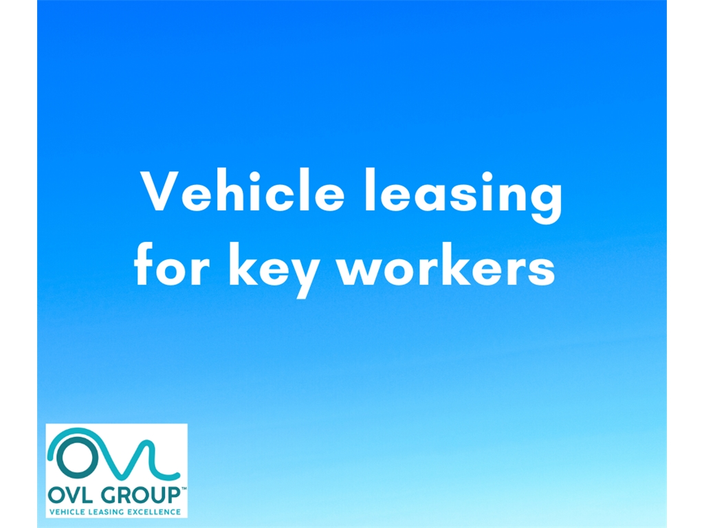 Car and van leasing - offers and deliveries available for key workers