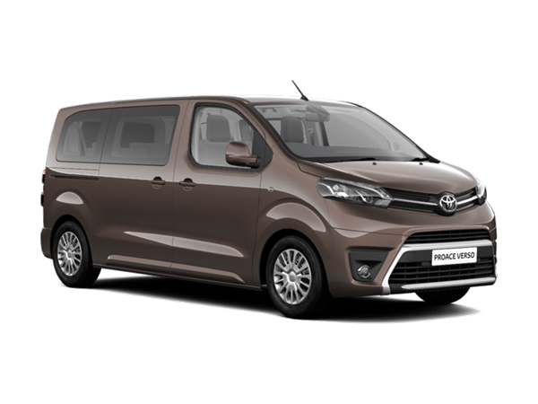 Lease the Toyota Proace from under £229+VAT a month – The Cheapest 9-seater Minibus we Have on Offer.