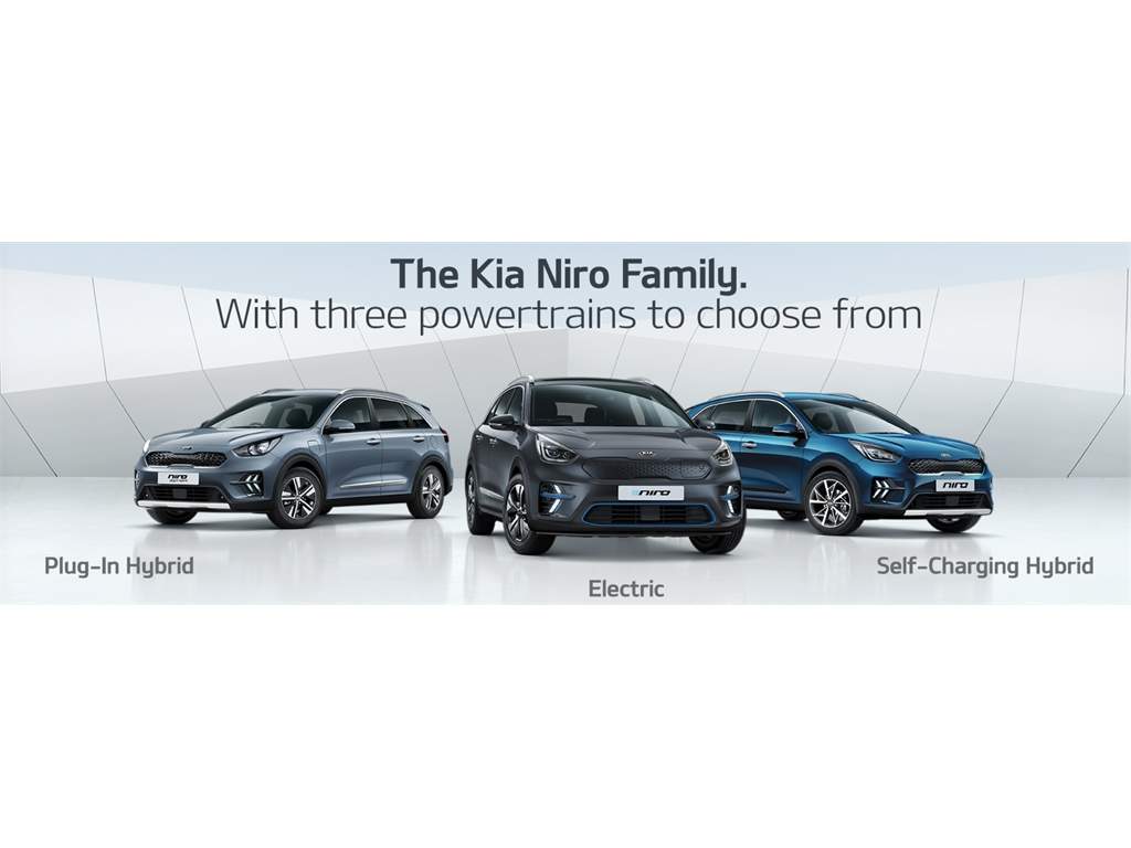 "The Kia Niro - ""low on emissions, big on choice"" Which one is right for you?"