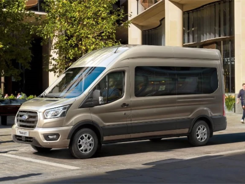 Order the Ford Transit 17-seater NOW for September delivery