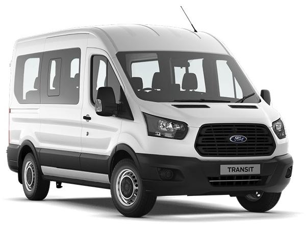 Ford TRANSIT 350 L2 MINIBUS DIESEL RWD 2.2 TDCi 125ps H2 12 Seater Trend