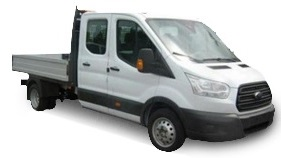 Ford TRANSIT 350 L3 DIESEL RWD 2.0 TDCi 105ps Double Cab Dropside