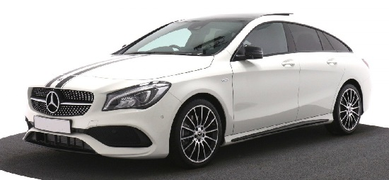 Mercedes-Benz CLA CLASS DIESEL SHOOTING BRAKE CLA 200d AMG Line 5dr [Map Pilot]