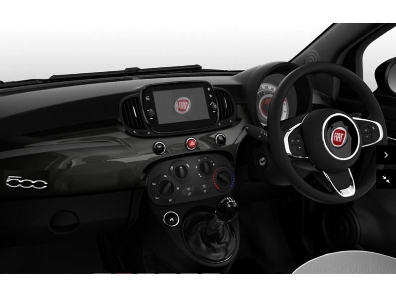 fiat 500 hatchback 1 2 lounge 3dr car lease. Black Bedroom Furniture Sets. Home Design Ideas