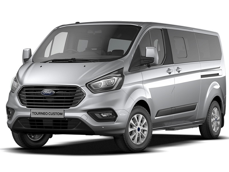 Ford TRANSIT CUSTOM TOURNEO L2 DIESEL FWD 2.0 TDCi 130ps Low Roof 9 Seater Zetec - NEW MODEL