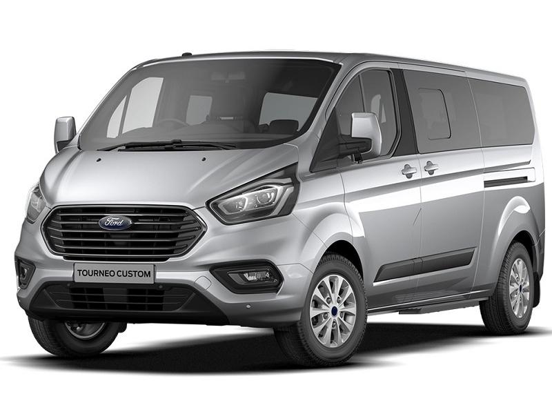Ford TRANSIT CUSTOM TOURNEO L2 DIESEL FWD 2.0 TDCi EcoBlue 130ps Low Roof 9 Seater Zetec