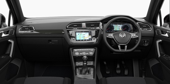VW Tiguan interior