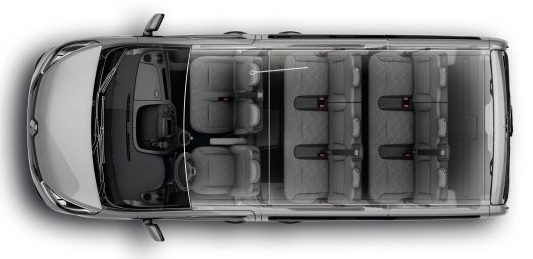 Renault TRAFIC SWB MINIBUS DIESEL SL27 ENERGY dCi 95 Business 9 Seater