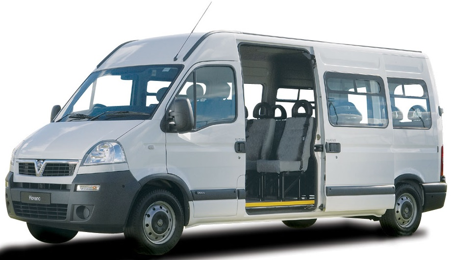 Vauxhall MOVANO 39 L3 MINIBUS DIESEL FWD 2.3 CDTI H2 BiTurbo 145ps 17 Seater Tacho