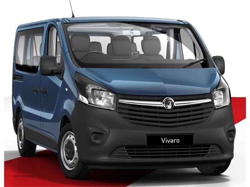 Vauxhall VIVARO L1 DIESEL 2900 1.6CDTI 95PS H1 Combi 9 Seat