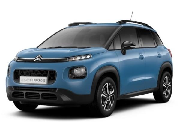 citroen c3 aircross hatchback 1 2 puretech feel 5dr car lease. Black Bedroom Furniture Sets. Home Design Ideas