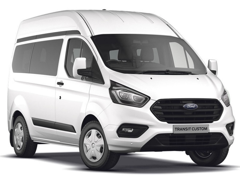 Ford TRANSIT CUSTOM 320 L2 DIESEL FWD 2.0 EcoBlue 105ps Low Roof Kombi Leader Van with Wheelchair conversion