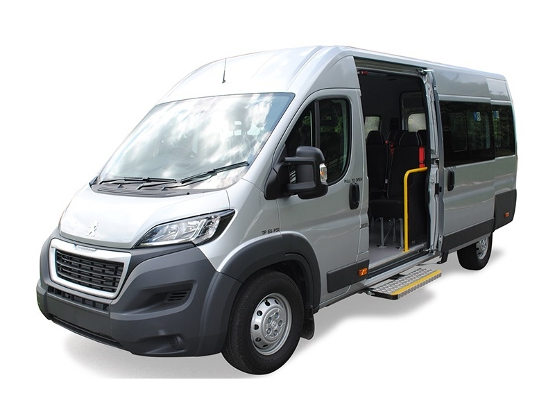 Peugeot BOXER 440 L4 DIESEL 2.2 BlueHDi H2 S 140ps 17 seater Minibus Lite - FULLY MAINTAINED