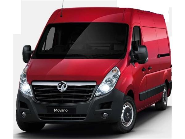 Vauxhall MOVANO 35 L3 DIESEL FWD 2.3 CDTI H2 Van 130ps