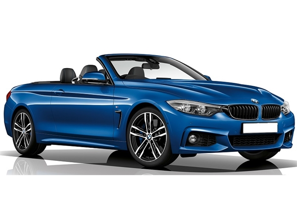 BMW 4 SERIES DIESEL CONVERTIBLE 420d [190] M Sport 2dr Auto [Professional Media]