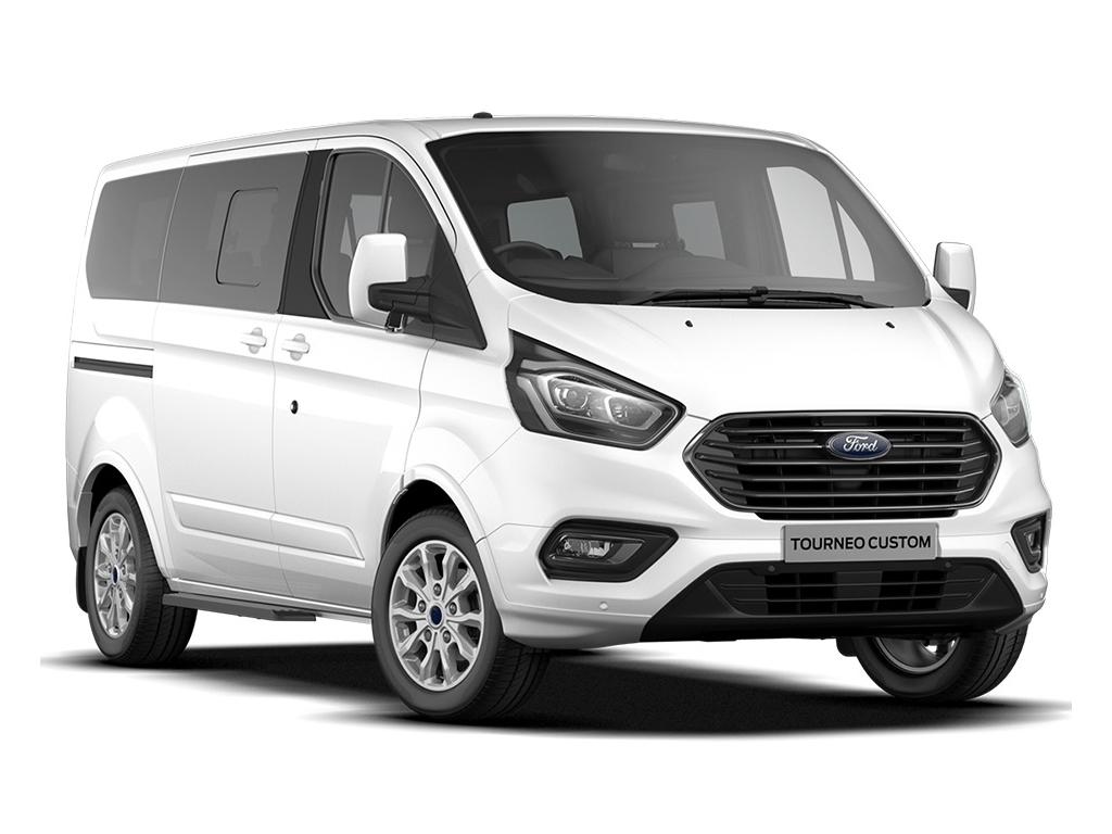 Ford TRANSIT CUSTOM TOURNEO L2 DIESEL FWD 2.0 EcoBlue 130ps Low Roof 9 Seater Titanium