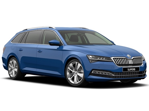 Skoda SUPERB DIESEL ESTATE 2.0 TDI CR 190 SE L 5dr DSG