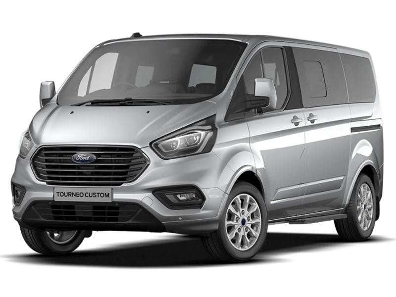 Ford TRANSIT CUSTOM TOURNEO L2 DIESEL FWD 2.0 EcoBlue 130ps L/R 9 Seater Titanium Auto