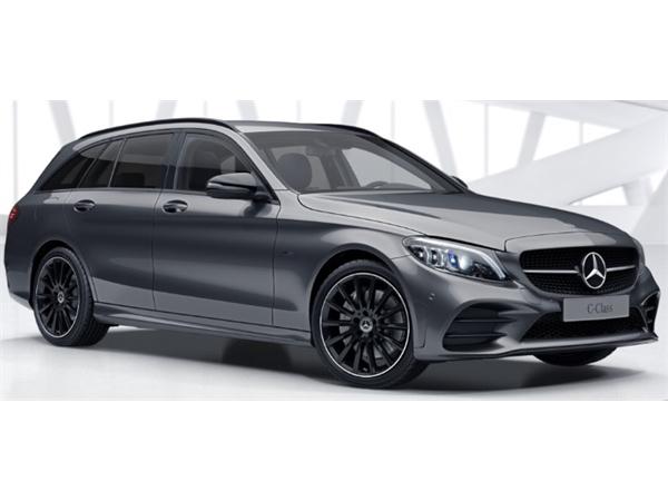 Mercedes-Benz C CLASS DIESEL ESTATE C300de AMG Line Edition Premium 5dr 9G-Tronic