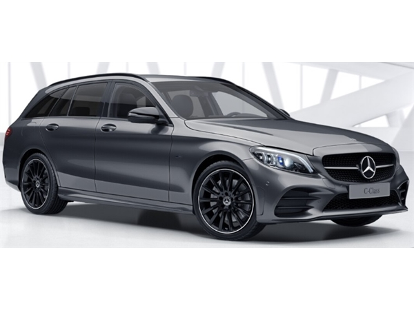 Mercedes-Benz C CLASS ESTATE SPECIAL EDITIONS C300de AMG Line Night Ed Premium + 5dr 9G-Tronic